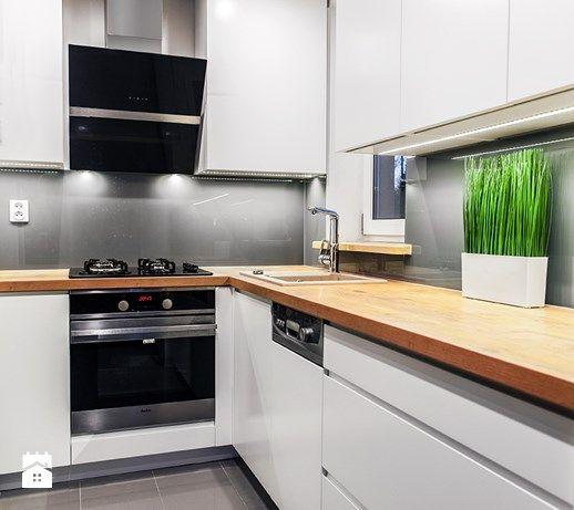Realizacja kuchni. Wolsztyn - Kuchnia, styl nowoczesny - zdjęcie od LaskowskaWnętrza