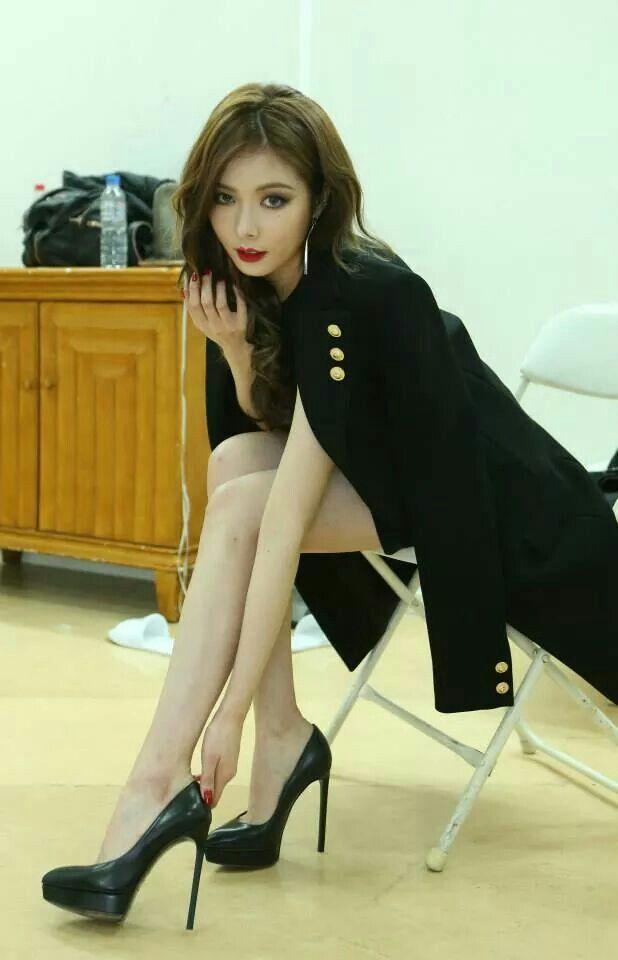 Hyuna. My new style icon