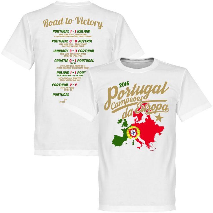 Portugal EURO 2016 Road To Victory T-Shirt - XXXXL