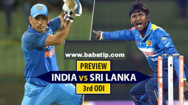 अब भारत को तीसरा मैच जीतने से कोइ भी नही रोक सकता क्यूंकी अब.....पडें पूरी खबर । India vs Sri Lanka 3rd ODI 2017 Cricket Betting Tips  #cricket #bettingtips #betting #tips #cricketbettingtips #indvssl #india #vs #srilanka #onlinecricketbettingtips #online #free #paid #accurate #result #ram #slam #bpl #t20 #odi #cric #cricketers #rohit #mathews #ind #sl #cbtf #cbtfonline #live #tipsonline #cricketbettingtipsonline