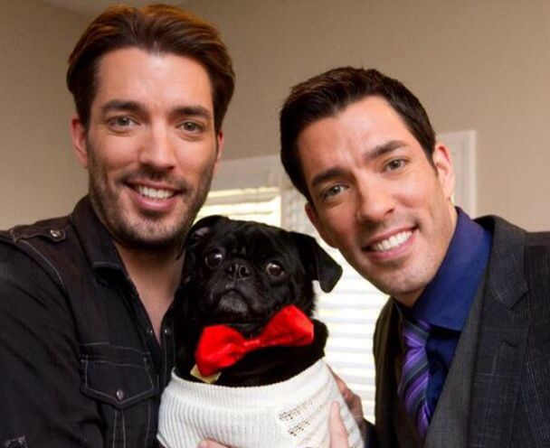 Property Brothers Drew and Jonathan Scott.