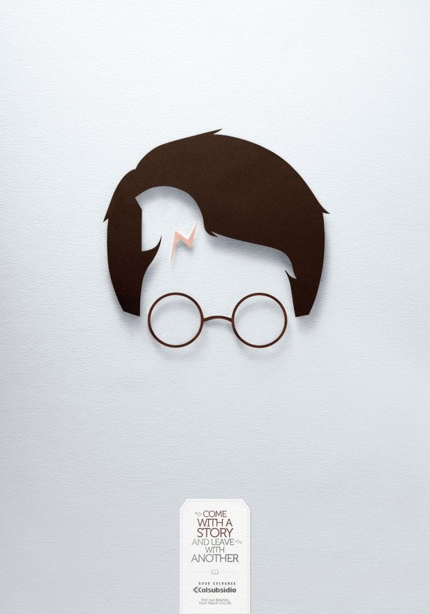 Book exchange - Come with a story and leave with another - Harry Potter & Troy