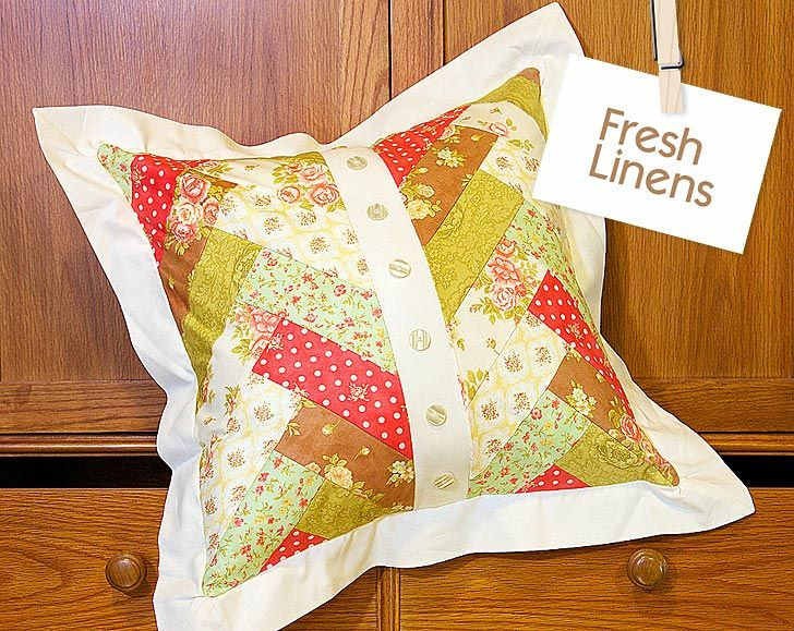 Jelly Roll Pillow