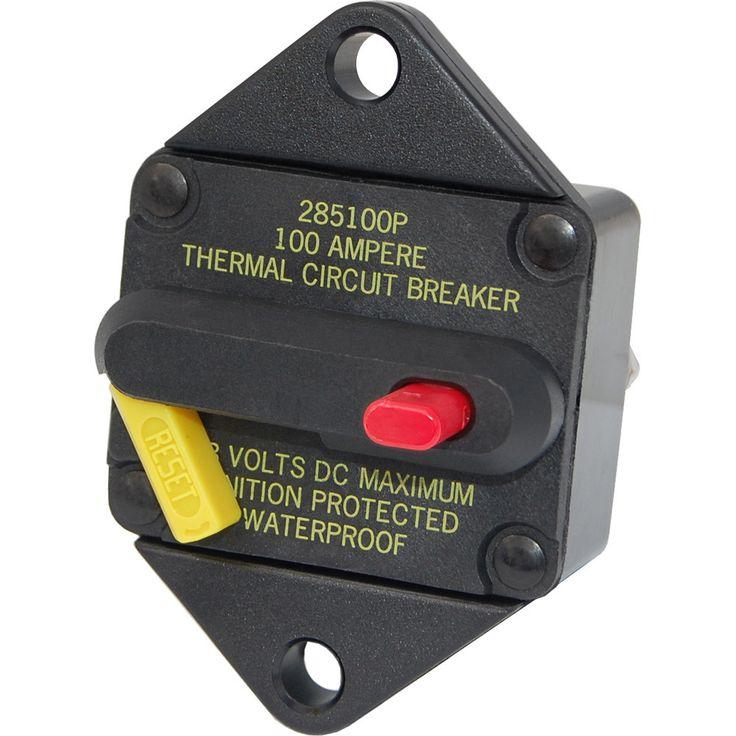 285Series Circuit Breaker Panel Mount 60A Drop in