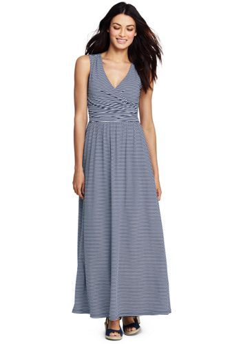 9e9f3f3feef Try our Women s Sleeveless Knit Surplice Maxi Dress at Lands  End.  Everything we sell is Guaranteed. Period.® Since 1963.