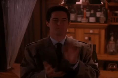 New party member! Tags: season 2 twin peaks showtime episode 21 clapping applause
