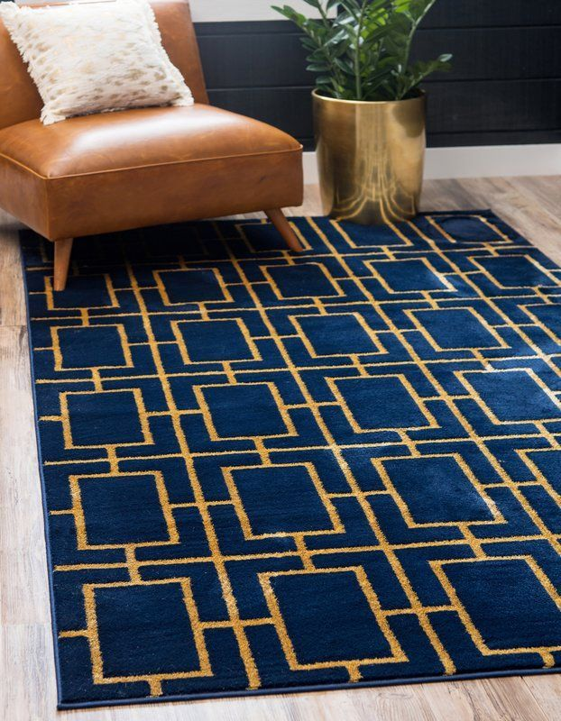Area Glam Goldbeige Rug Rug On Carpet Living Room Ideas Couch In 2020 Blue And Gold Living Room Blue And Gold Bedroom Navy Gold Bedroom