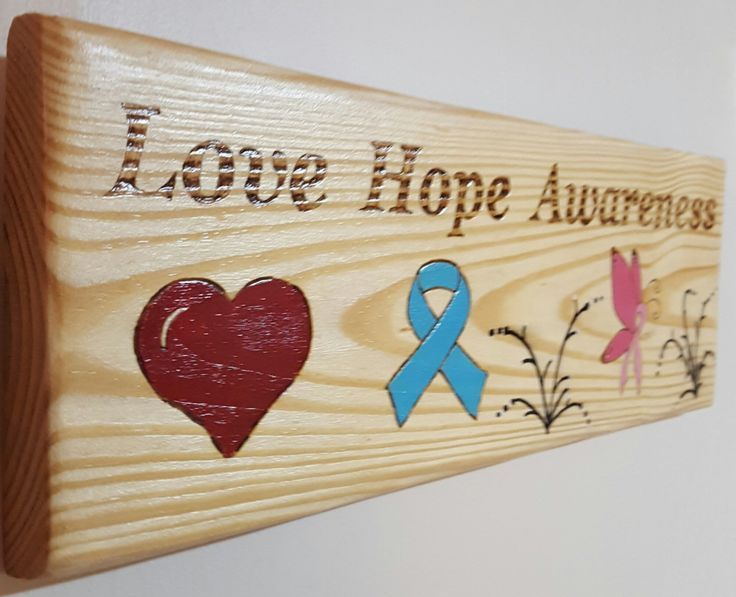 Awareness signs- signs-painted signs- sayings and quotes - home decor-gift -meaningful sayings by DevineSignz on Etsy