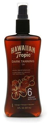 Hawaiian Tropic Dark Tanning Oil, Spray Pump, SPF 6 on shopstyle.com