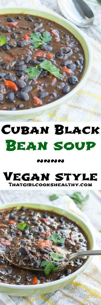 Treat yourself this winter to some warm and hearty Cuban black bean soup that's vegan and gluten free. My latest soup recipe couldn't be more timely with the weekend fast approaching. If you're a fan of legumes and pulse like I am then you're in the right place at the right time. Beans or peas