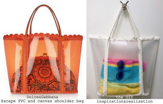 Crochet Transparent Beach Bag - Tutorial ❥ 4U // hf