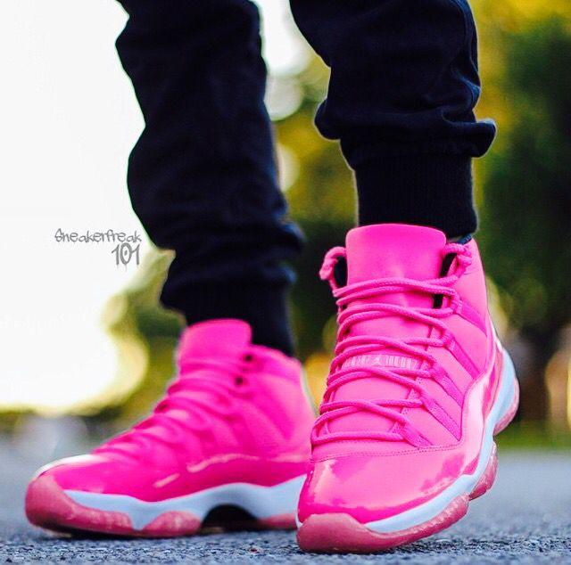 Pink Air Jordan Retro 11