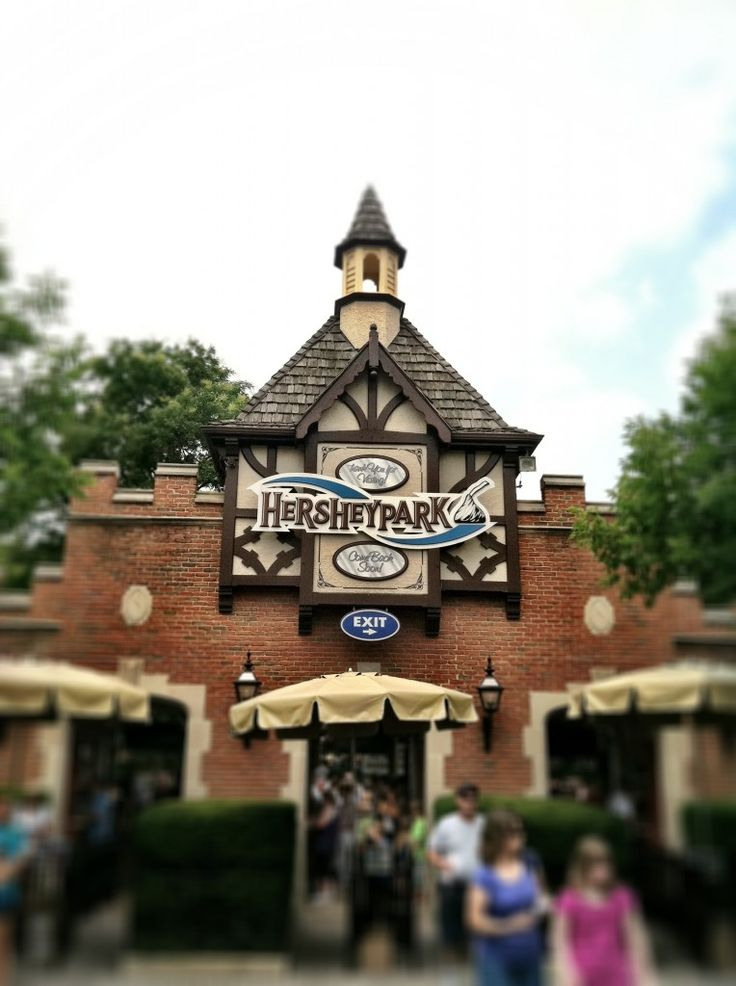 The Sweetest Place On Earth: Hershey Park.... Thinking about making a trip there in September!