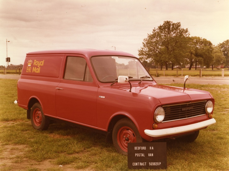 Bedford HA Royal Mail Van. Many memories of these from my youth.