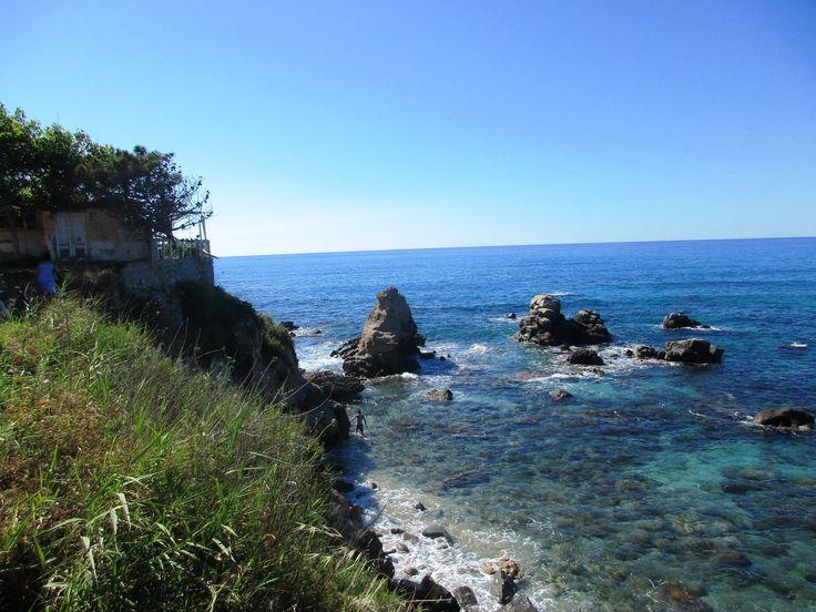 Tyrhénské moře - Briatico - Kalábrie - Itálie