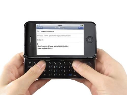 iPhone 4 Bluetooth Klavyeli Sürgülü Kılıfı - 106.69 TL + KDV