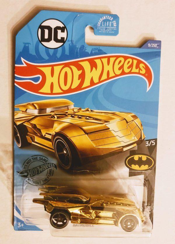 DC Comics Batmobile 2//5 Batman NEW 2019 Hot Wheels
