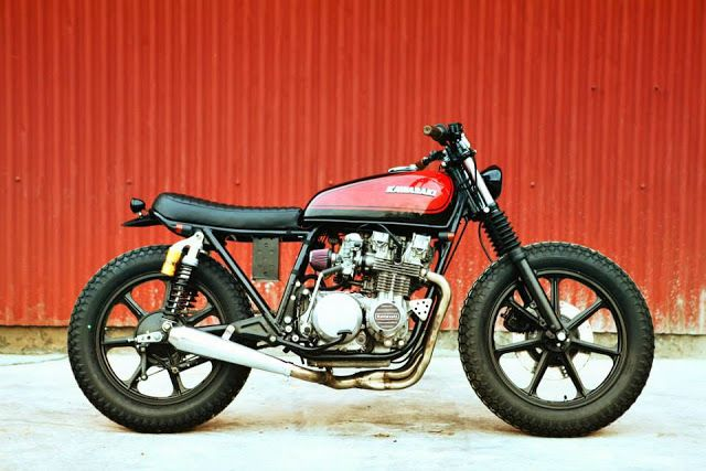 ϟ Hell Kustom ϟ: Kawasaki KZ650 By Herencia Custom