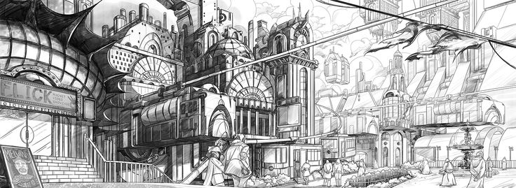 Steampunk Sketch