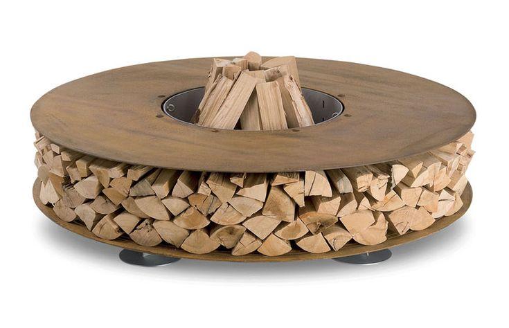 AK47 Zero - Outdoor Wood Fireplace