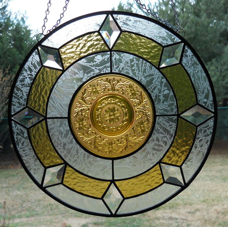 10 Best Images About Stained Glass With Plates On
