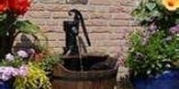 How to Build a Garden Fountain With an Old Water Pump | eHow.com