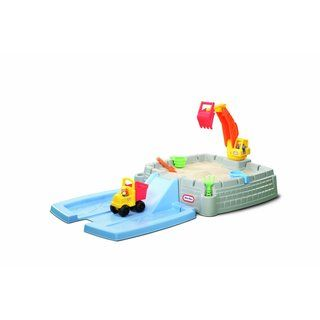 Little Tikes Big Digger Sandbox | Overstock.com Shopping - Big Discounts on Little Tikes Other Outdoor Play