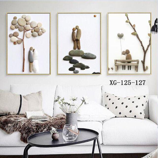 Best Simple Stone Romantic Wedding Decoration Sweet Couple 400 x 300