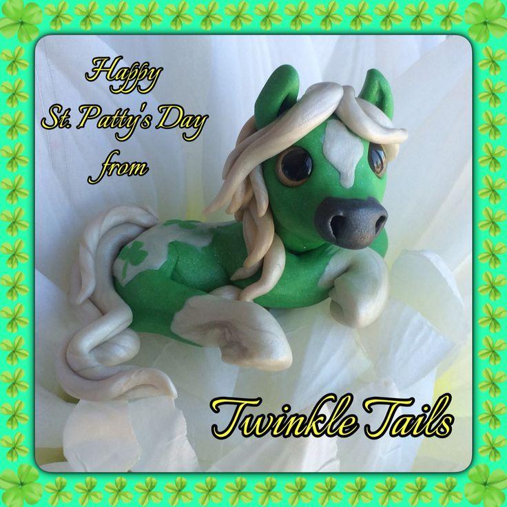 St. Patrick Pony! www.etsy.com/shop/TwinkleTailsGallery www.facebook.com/TwinkleTails