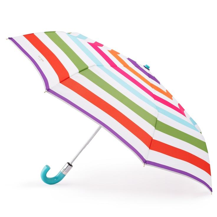 Kate Spade umbrella: Fashion, Dying Umbrellas, Rainbow Umbrella S, Buy Umbrellas, Spade Umbrella, Accessories, Kate Spade, Rainy Days, Beautiful Umbrellas