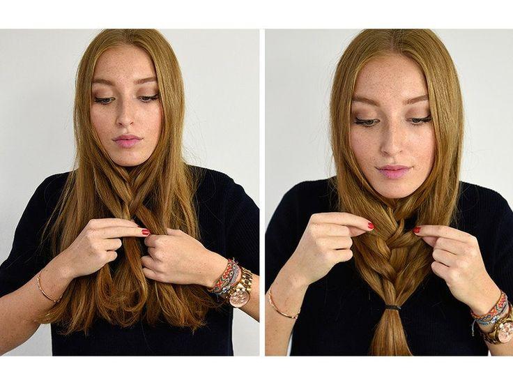Flip Braid: In 5 Schritten zur Trendfrisur | ELLE