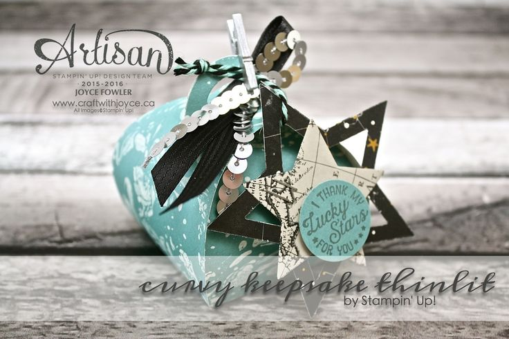Going global, with Stampin Up | www.craftwithjoyce.ca | by Joyce Fowler