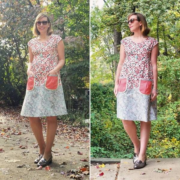 dottie angel frock pattern - Like this without pockets though