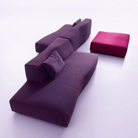 Bend-Sofa by Patricia Urquiola for B Italia