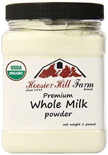 Certified Organic Whole Milk Powder (1lb), Hoosier Hill F... https://www.amazon.com/dp/B01LQH5TCE/ref=cm_sw_r_pi_dp_x_Mtsfyb7A7Z2YF