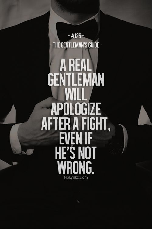a real gentleman quotes - photo #15