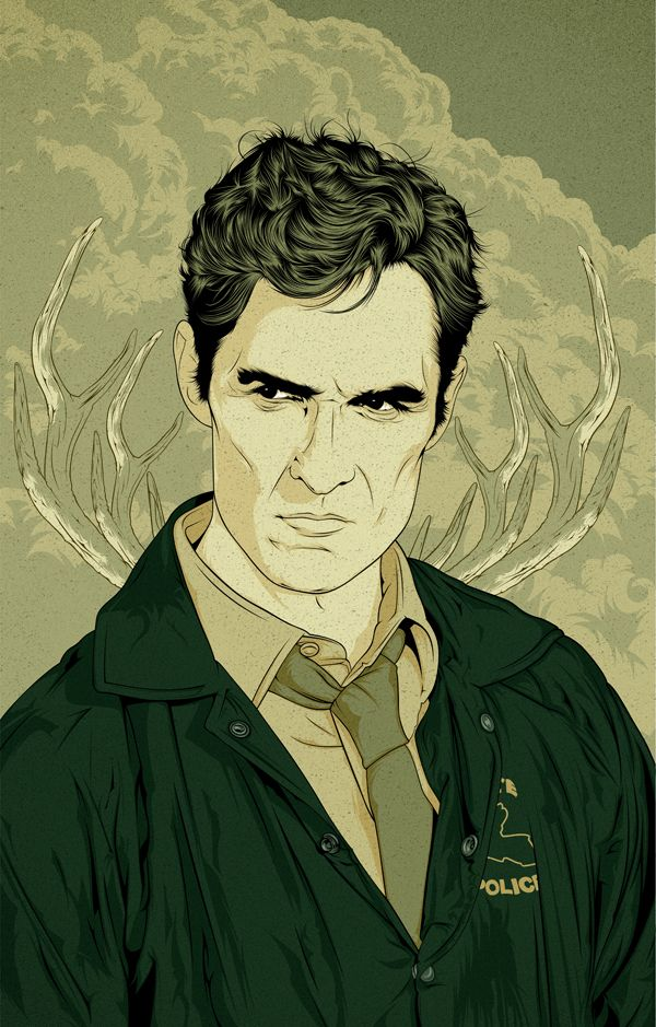True Detective // Rust Cohle on Behance