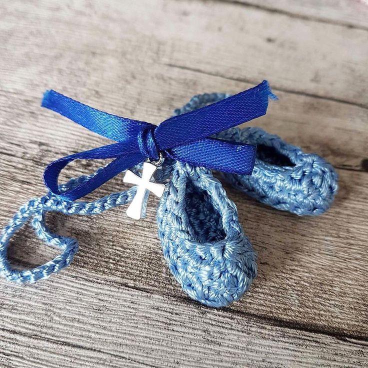 Marturii botez baietel crosetate | Handmade Bucuresti #itsaboy #marturii #botez #crochet
