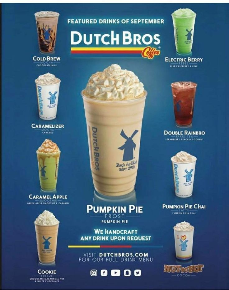 Dutch Bros for days I don't want Starbucks