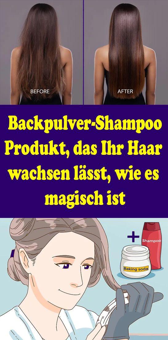 Backpulver-Shampoo: Produkt, das Ihr Haar wachsen lässt, wie es magisch ist