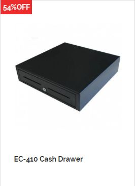 QuickPOS now dealing with HIGH Discount of 54%  on EC-410 Cash Drawer POS Cash Drawer Black at QuickPOS OnlineStore in Australia. https://www.quickpos.com.au/special-offe…/ec-410-cash-drawer