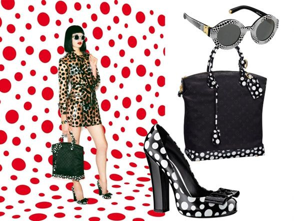 Pattern & Paint | Yayoi Kusama for Louis Vuitton: Vuitton Accessories, Louis Vuitton, Metals Fashion, Artists Yayoi, Yayoi Kusama, Vuitton Acessori, Kusama Aaahh, Acessori Collection, New Collection