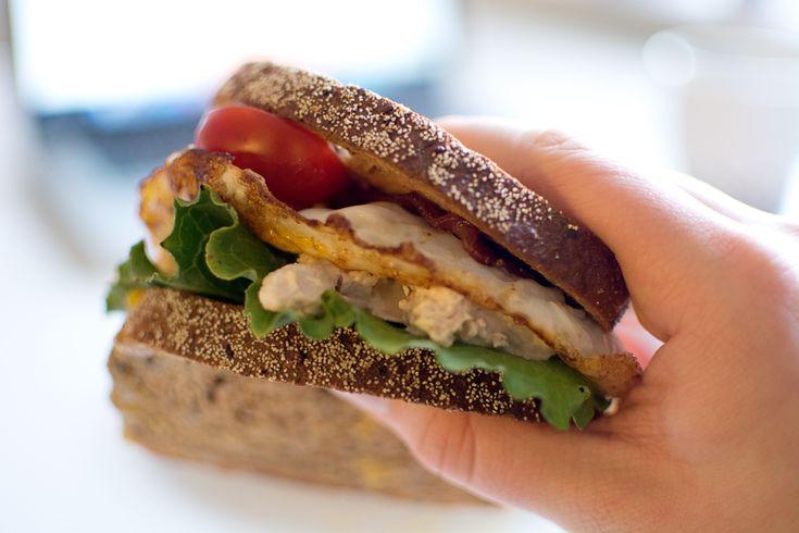 Kycklingsmörgås