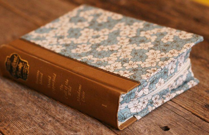 Interchangeable needle case tutorial using vintage book