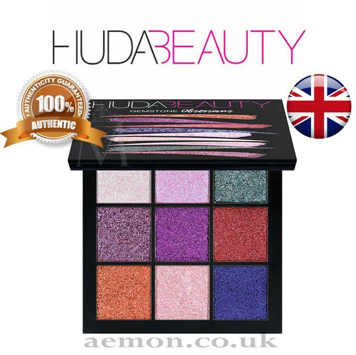 Huda Magnificence Gemstone Obsession Palette 9 Eyeshadow Palette 100 ORIGINAL #Advert Gems…