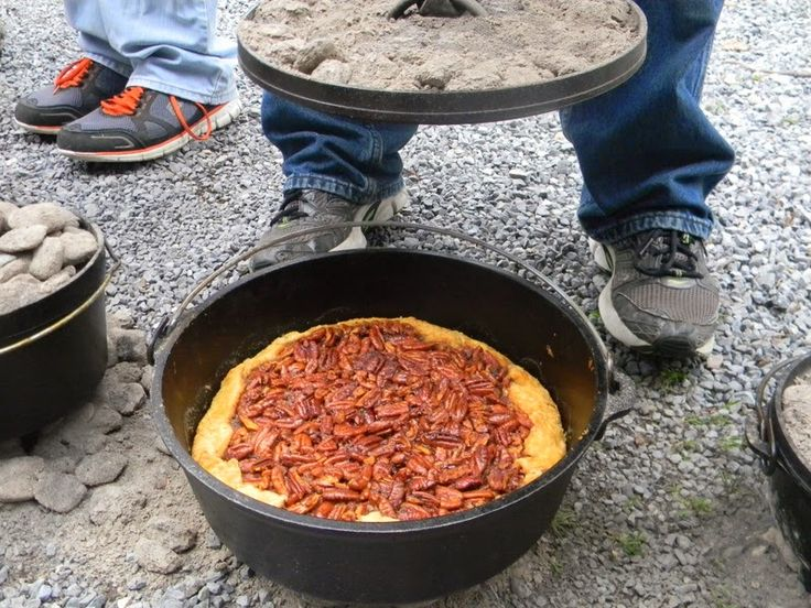 17 best images about chuck wagon cast iron cooking on for Cast iron dutch oven camping recipes