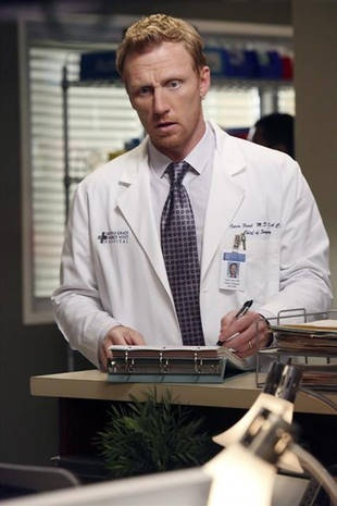 Owen (Kevin McKidd)- The fact that he's actually scottish makes him a million times more attractive