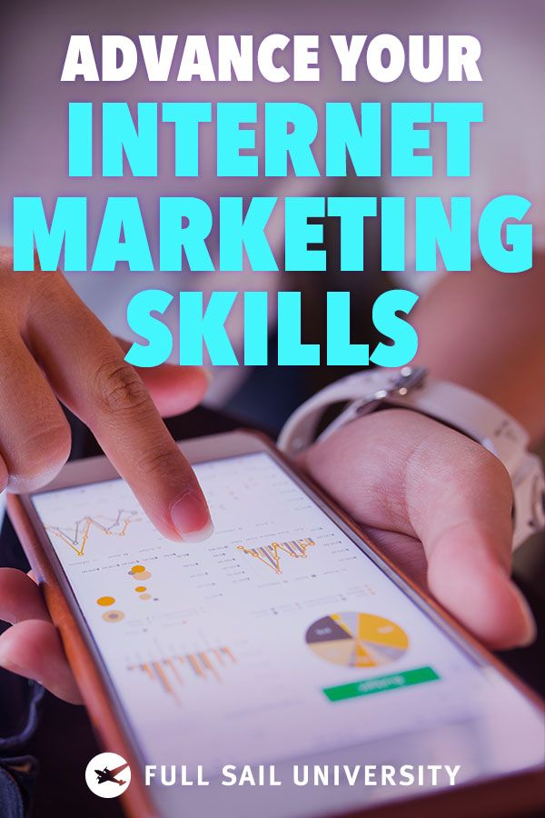 Strategize, Target, Analyze. Learn advanced tactics to reach your audience with an online Internet Marketing master of science degree from Full Sail University.