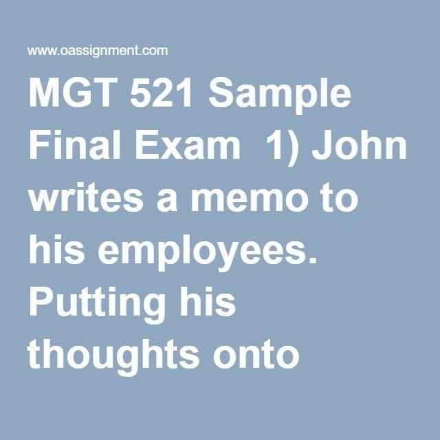 Mgt 521 week 5 individual paper