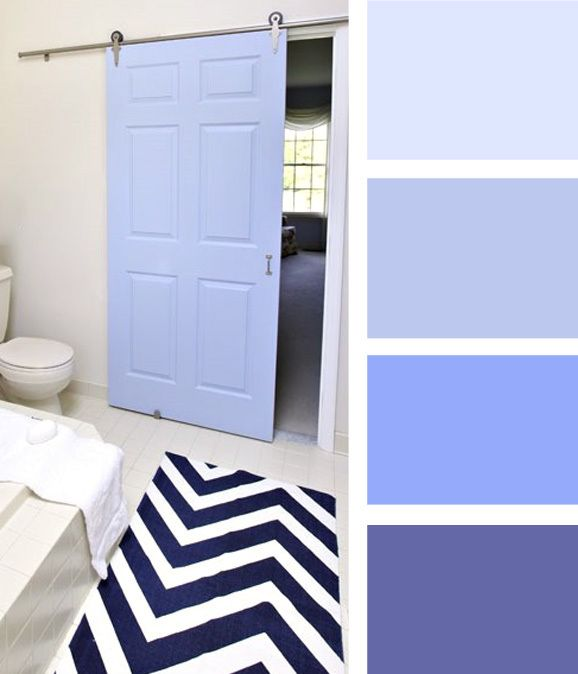 How to choose the right shade of the color blue: periwinkle